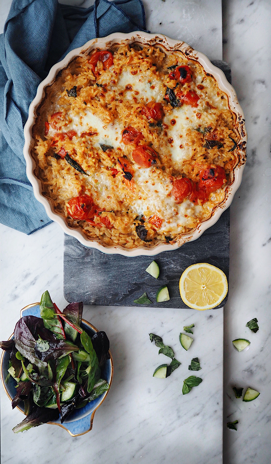 Baked-Mozzarella-and-cherry-tomato-risotto-recipe-blog
